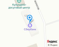 Схема местоположения почтового отделения 629721