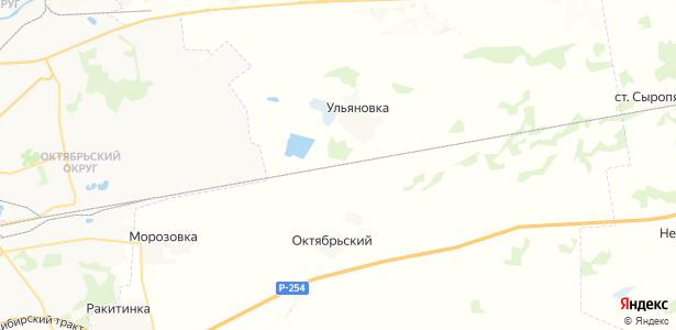 Густафьево на карте