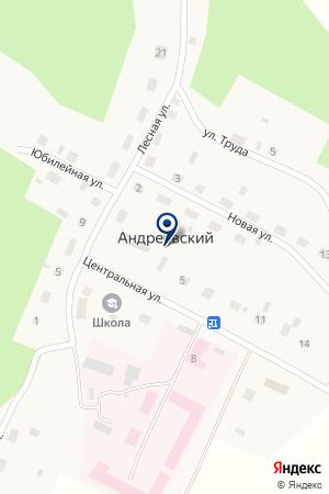 ВЕТЕРИНАРНЫЙ УЧАСТОК ПОС.АНДРЕЕВСКИЙ на карте Бредов
