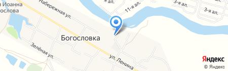 Богословский фельдшерско-акушерский пункт на карте Богословки