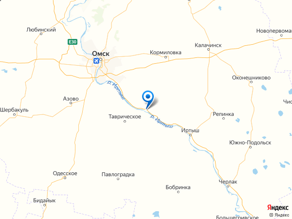 село Ачаир на карте