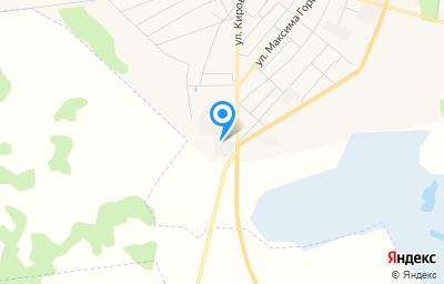 Местоположение на карте пункта техосмотра по адресу Омская обл, рп Горьковское, ул Кирова, д 92