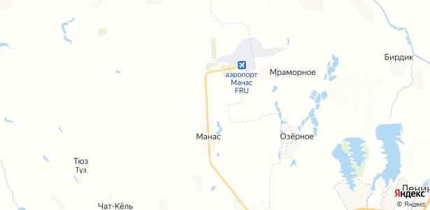 Учкун на карте
