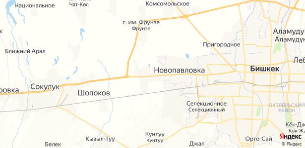 Военно-Антоновка на карте
