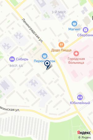ПАРИКМАХЕРСКАЯ ВЕЛЛА на карте Когалыма