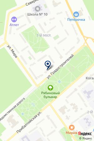 АРЕНА на карте Когалыма