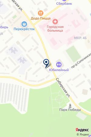 ТД СПОЛАТ ЭВРИКА на карте Когалыма