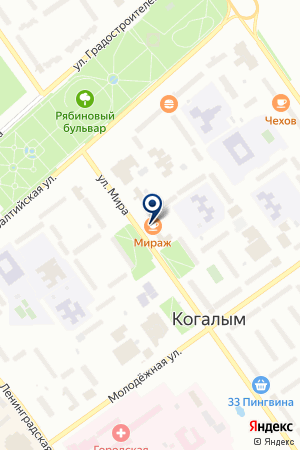 ФИРМА ВАШ КОНСУЛЬТАНТ на карте Когалыма