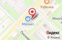 Схема проезда до компании 16 Карат в Муравленко