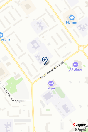 ДЕТСКИЙ САД БУРАТИНО на карте Когалыма