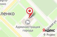 Схема проезда до компании Управление экономики и прогнозирования в Муравленко