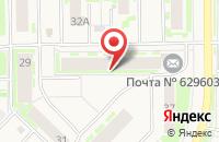 Схема проезда до компании БАНКОМАТ ХАНТЫ-МАНСИЙСКИЙ БАНК в Муравленко