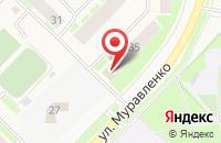 Схема проезда до компании Абсолют в Муравленко