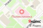 Схема проезда до компании Взрослая поликлиника в Муравленко