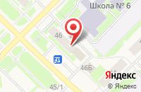 Схема проезда до компании Виктория в Муравленко