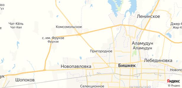 Достук на карте