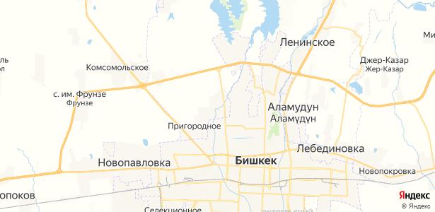 Маевка на карте