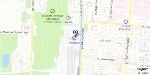 Усть-Каменогорский конденсаторный завод на карте Усть-Каменогорске