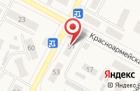 Схема проезда до компании Проспект в Белово