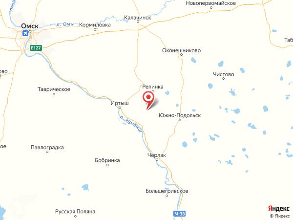 деревня Суворовка (отделение №4 совхоза Коммунист) на карте
