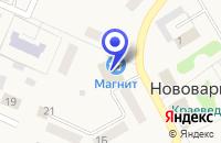 Схема проезда до компании ПРОДОВОЛЬСТВЕННЫЙ МАГАЗИН МЕРКУРИЙ в Нововаршавке