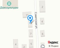 Схема местоположения почтового отделения 646929