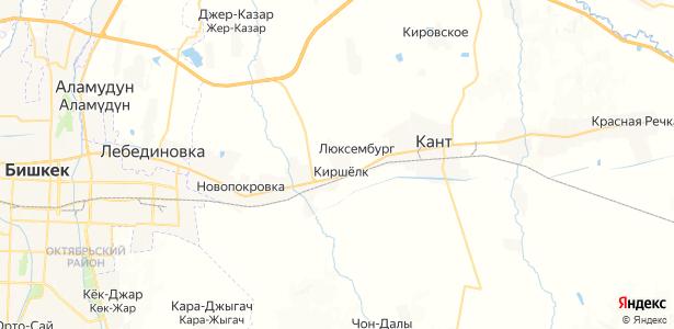 Киршелк на карте