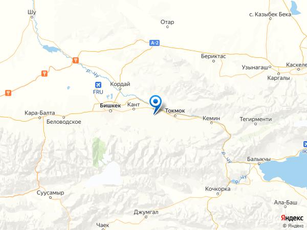 поселок ст. Ивановка на карте