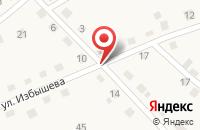 Схема проезда до компании МУП МУРОМЦЕВСКИЙ БАННО-ПРАЧЕЧНЫЙ КОМБИНАТ в Муромцево