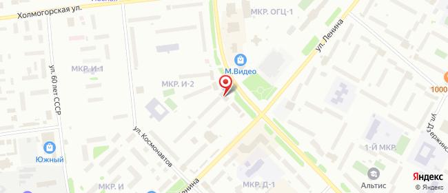 Карта расположения пункта доставки Халва в городе Ноябрьск