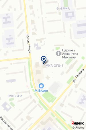 АБОНЕНТСКИЙ ОТДЕЛ UTEL (ЮТЕЛ) на карте Ноябрьска