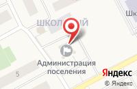 Схема проезда до компании Школьный в Ханымее