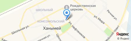 Тарко-Салинская центральная районная больница на карте Ханымея