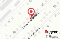 Схема проезда до компании Советское Сму в Советском