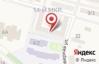 Схема проезда до компании Ханты-Мансийский банк Открытие в Мегионе