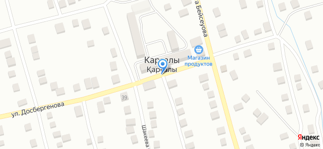 Алматинская область, поселок Фабричный