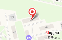 Схема проезда до компании Случ в Губкинском