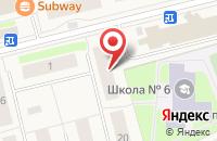 Схема проезда до компании Тройка в Губкинском