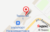 Схема проезда до компании Промсервис в Нижневартовске