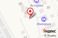 Схема проезда до компании Эра в Губкинском