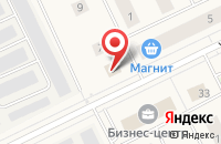 Схема проезда до компании Нигма в Губкинском