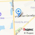 ТСТ на карте Нижневартовска