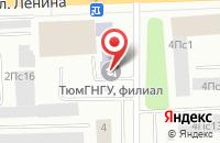 Схема проезда до компании Сибтранс в Нижневартовске