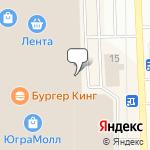 Магазин салютов Нижневартовск- расположение пункта самовывоза
