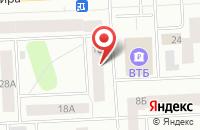 Схема проезда до компании Югратехноойл в Нижневартовске