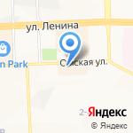 ТНТ-Нижневартовск на карте Нижневартовска
