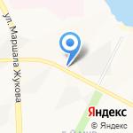 Ленинградская шаверма на карте Нижневартовска