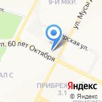 АРТ ЛЭВЭЛ на карте Нижневартовска