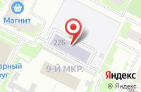 Схема проезда до компании Прогрес-Строй в Нижневартовске