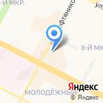 Тортини на карте Нижневартовска